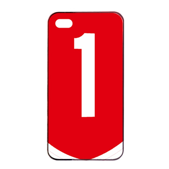 New Zealand State Highway 1 Apple iPhone 4/4s Seamless Case (Black)