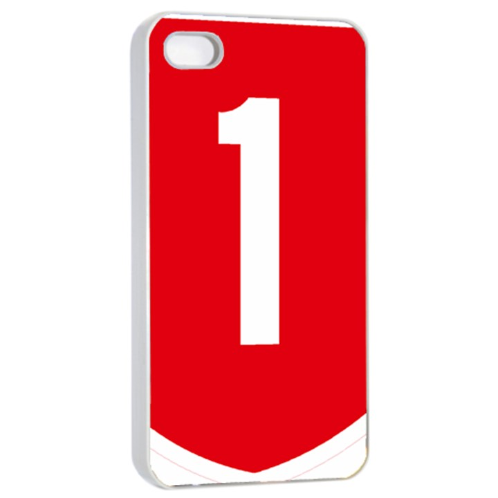 New Zealand State Highway 1 Apple iPhone 4/4s Seamless Case (White)