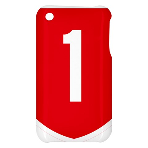 New Zealand State Highway 1 Apple iPhone 3G/3GS Hardshell Case