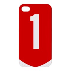 New Zealand State Highway 1 Apple Iphone 4/4s Hardshell Case