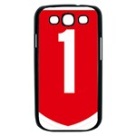 New Zealand State Highway 1 Samsung Galaxy S III Case (Black) Front