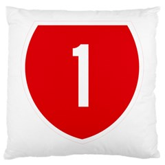New Zealand State Highway 1 Large Cushion Case (One Side)