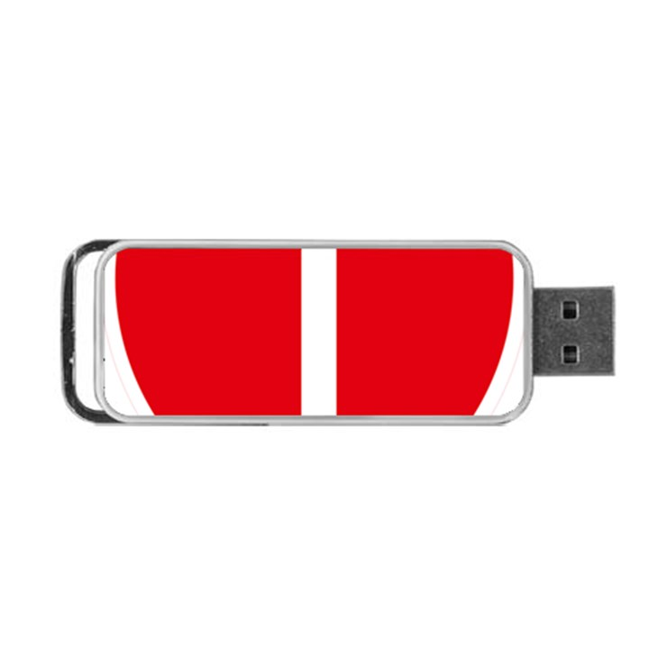 New Zealand State Highway 1 Portable USB Flash (Two Sides)