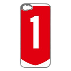New Zealand State Highway 1 Apple Iphone 5 Case (silver)