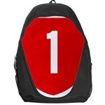 New Zealand State Highway 1 Backpack Bag Front