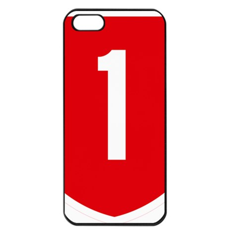 New Zealand State Highway 1 Apple iPhone 5 Seamless Case (Black)