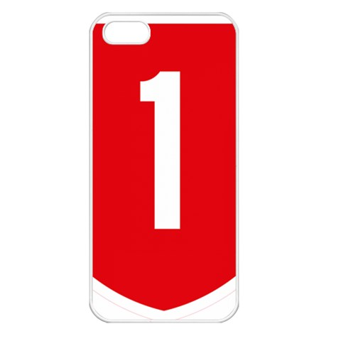 New Zealand State Highway 1 Apple iPhone 5 Seamless Case (White)