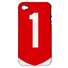 New Zealand State Highway 1 Apple Iphone 4/4s Hardshell Case (pc+silicone)