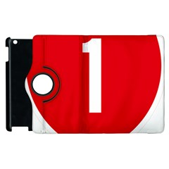 New Zealand State Highway 1 Apple iPad 2 Flip 360 Case