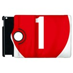 New Zealand State Highway 1 Apple iPad 2 Flip 360 Case Front