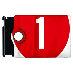 New Zealand State Highway 1 Apple Ipad 3/4 Flip 360 Case
