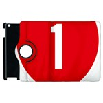 New Zealand State Highway 1 Apple iPad 3/4 Flip 360 Case Front
