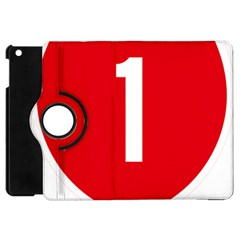 New Zealand State Highway 1 Apple Ipad Mini Flip 360 Case