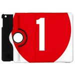 New Zealand State Highway 1 Apple iPad Mini Flip 360 Case Front