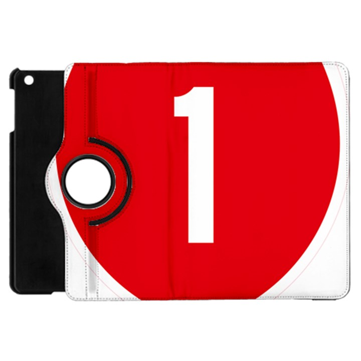New Zealand State Highway 1 Apple iPad Mini Flip 360 Case