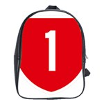 New Zealand State Highway 1 School Bags (XL)  Front
