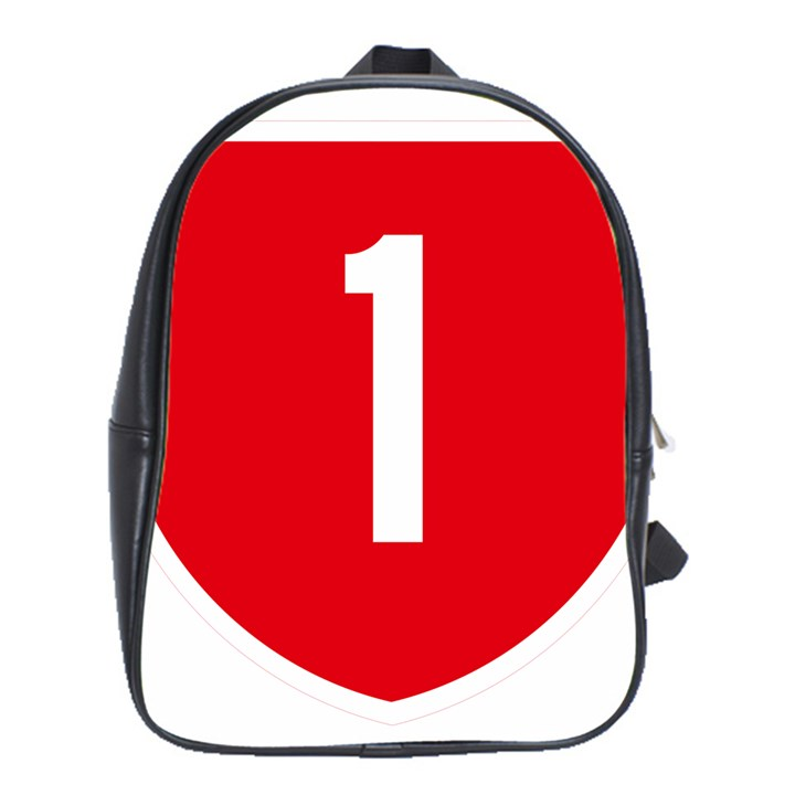 New Zealand State Highway 1 School Bags (XL)