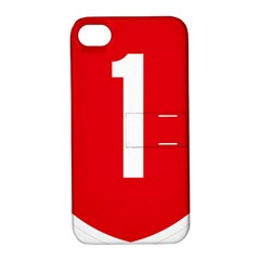 New Zealand State Highway 1 Apple iPhone 4/4S Hardshell Case with Stand