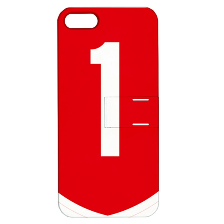 New Zealand State Highway 1 Apple iPhone 5 Hardshell Case with Stand