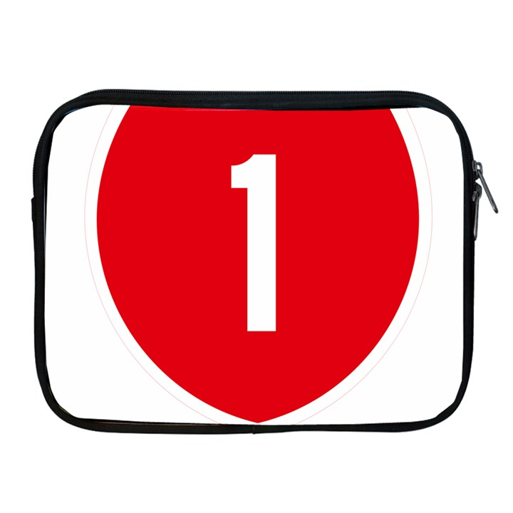 New Zealand State Highway 1 Apple iPad 2/3/4 Zipper Cases