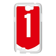 New Zealand State Highway 1 Samsung Galaxy Note 2 Case (White)