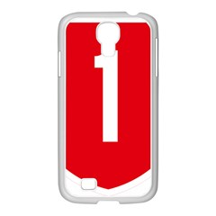New Zealand State Highway 1 Samsung Galaxy S4 I9500/ I9505 Case (white)