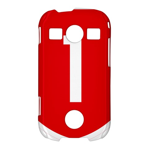 New Zealand State Highway 1 Samsung Galaxy S7710 Xcover 2 Hardshell Case
