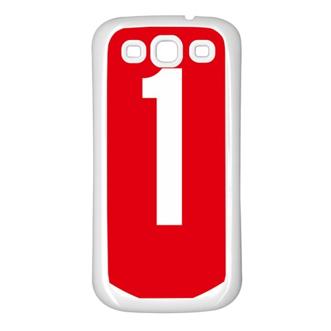New Zealand State Highway 1 Samsung Galaxy S3 Back Case (White)
