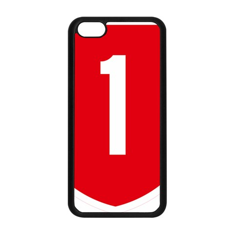 New Zealand State Highway 1 Apple iPhone 5C Seamless Case (Black)