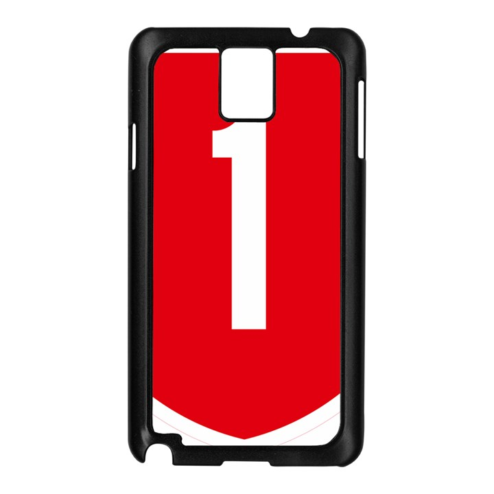 New Zealand State Highway 1 Samsung Galaxy Note 3 N9005 Case (Black)