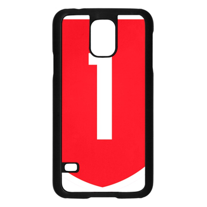 New Zealand State Highway 1 Samsung Galaxy S5 Case (Black)