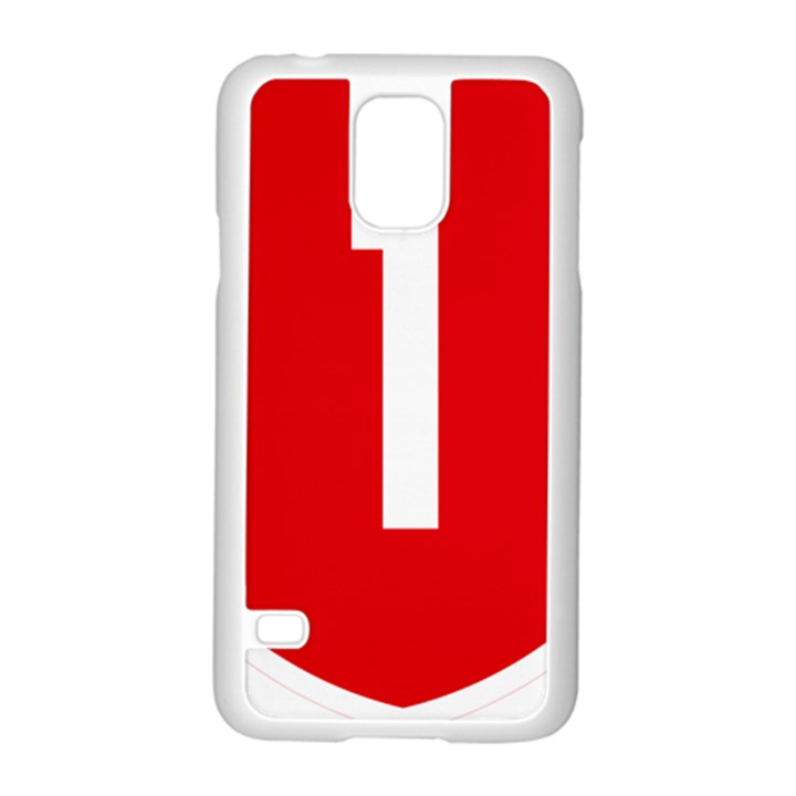 New Zealand State Highway 1 Samsung Galaxy S5 Case (White)