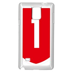 New Zealand State Highway 1 Samsung Galaxy Note 4 Case (White)