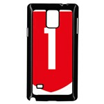 New Zealand State Highway 1 Samsung Galaxy Note 4 Case (Black) Front