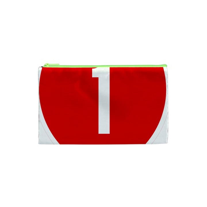 New Zealand State Highway 1 Cosmetic Bag (XS)