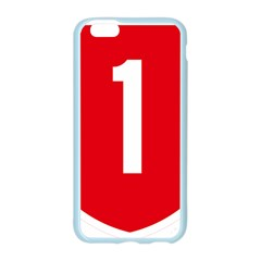 New Zealand State Highway 1 Apple Seamless iPhone 6/6S Case (Color)