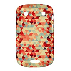 Modern Hipster Triangle Pattern Red Blue Beige Bold Touch 9900 9930