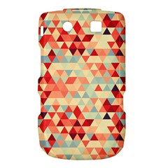 Modern Hipster Triangle Pattern Red Blue Beige Torch 9800 9810