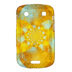 Gold Blue Abstract Blossom Bold Touch 9900 9930