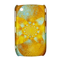 Gold Blue Abstract Blossom Curve 8520 9300