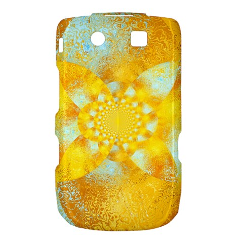Gold Blue Abstract Blossom Torch 9800 9810