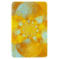 Gold Blue Abstract Blossom Kindle Fire (1st Gen) Hardshell Case