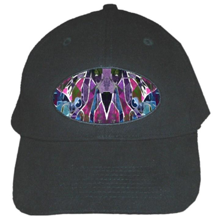 Sly Dog Modern Grunge Style Blue Pink Violet Black Cap