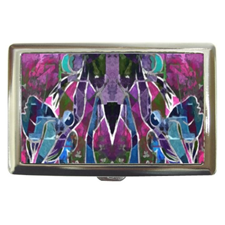 Sly Dog Modern Grunge Style Blue Pink Violet Cigarette Money Cases