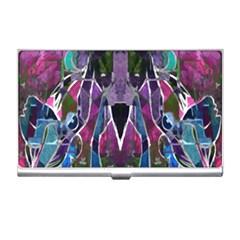 Sly Dog Modern Grunge Style Blue Pink Violet Business Card Holders