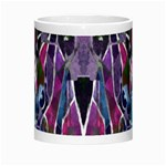 Sly Dog Modern Grunge Style Blue Pink Violet Morph Mugs Center