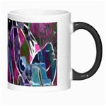Sly Dog Modern Grunge Style Blue Pink Violet Morph Mugs Right