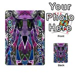 Sly Dog Modern Grunge Style Blue Pink Violet Playing Cards 54 Designs  Front - Joker1