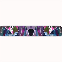 Sly Dog Modern Grunge Style Blue Pink Violet Small Bar Mats