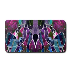 Sly Dog Modern Grunge Style Blue Pink Violet Medium Bar Mats